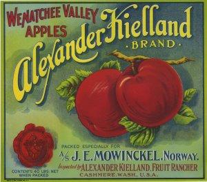 Alexander Keilland Wenatchee Apple