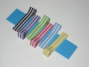 Sassy Stripes Petite Clips