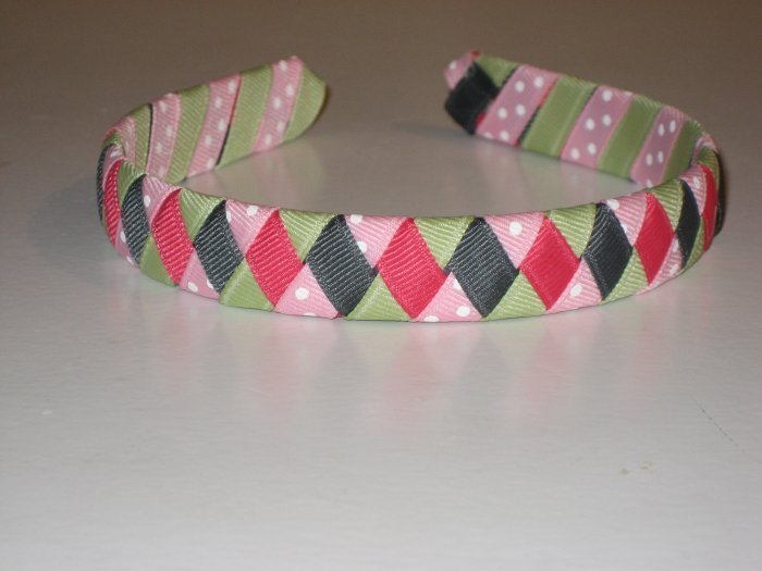 Classroom Kitty M2MG Ribbon Headband