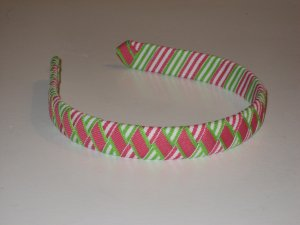 Fresh Watermelon Ribbon Headband
