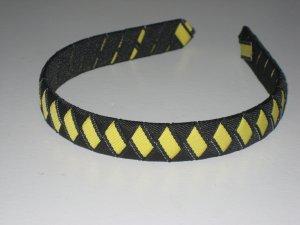 Pittsburgh Steelers - Black & Yellow - Ribbon Headband