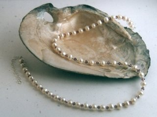 Freshwater Pearls and Crystals Necklace