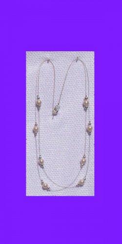 Swarovski Autstrian Crystal Pearl Necklace