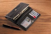 Embassy Patched Leather Wallet (001-04)