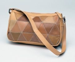 Diamond Patchwork Shoulder Bag (000-012)