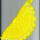 Set of two Lemon Slice Potholder