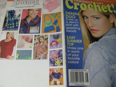 Hooked on Crochet August 2005 Magazine  Issue # 112