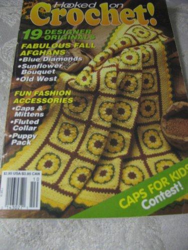 Hooked on Crochet Sept-Oct 1992 Magazine  Issue # 35