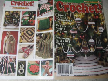 Hooked on Crochet December 2002 Vol .16 # 6
