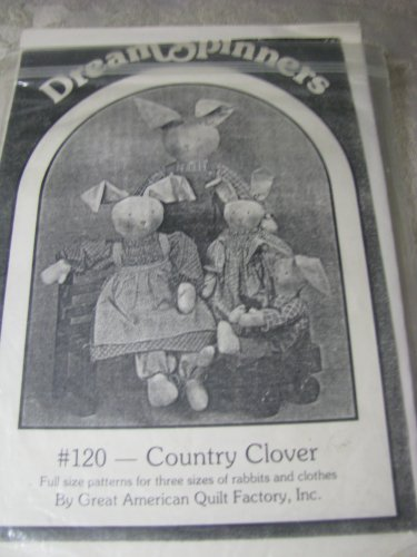 Dream Spinners- @120 Country Clover Bunnies Patterns
