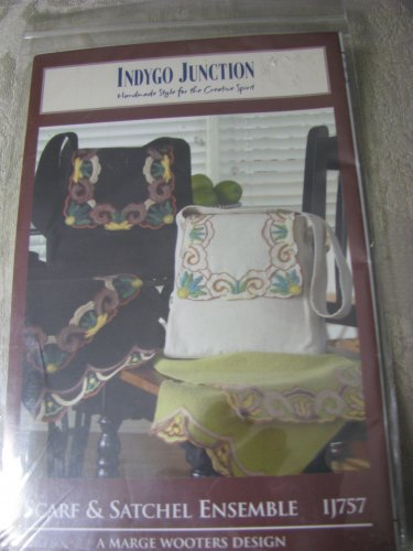 Scarf & Satchel Ensemble by Indygo Junction Patterns