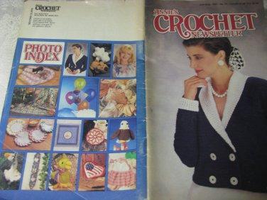 Crochet Newsletter July-Aug 1991 # 52 Magazine