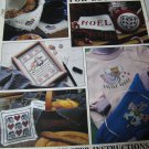 Cross Stitch for Beginners plus More Garden Joys,and American Sampler Pattern Books