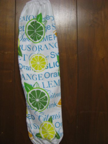 Lemon and Limes  Grocery Bag Holder