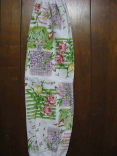 Pastel Florals  Grocery Bag Holder.