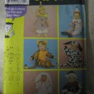 Simplicity 4872 Sizes 1/2 to 4 Toddlers' Costumes
