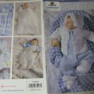 Caron Cuddle Soft Simply Soft Baby Basics Crochet Pattern Booklet  -Leisure Arts