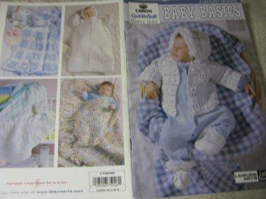 Caron Cuddle Soft Simply Soft Baby Basics Crochet Pattern Booklet  -Leisure Arts