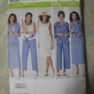 Simplicity 4552 Sizes 10-18 Misses' Skirt, Cropped Pants, Dress or Top, etc.