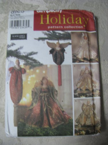 Simplicity  8925 Angel Tree Toppers and Ornaments