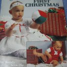 Knit & Crochet Baby's First Christmas- Crochet Pattern Book.