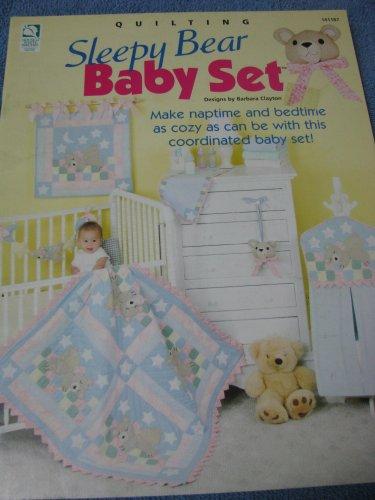 Sleepy Bear Baby Set  Pattern Book