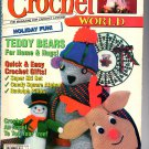Crochet World December 1991 Magazine.