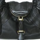 WHITE designer woven handle detective Spy bag handbag