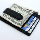 PREMIUM LEATHER MONEY CLIP WINDOW ID Wallet + FREE SHIP