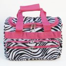 ZEBRA PINK DUFFLE BAG LUGGAGE CARRY ON OVERNIGHT 13