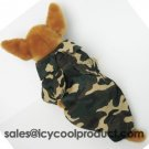 Camo Shirt jacket pet dog clothes  Chihuahua APPAREL  M