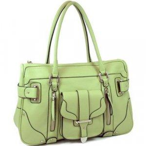 Green Woman Pocket Inspired Designer Handbag Bag