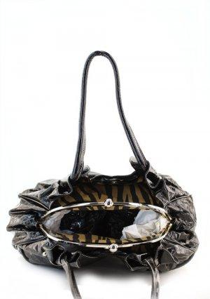 GreenDesigner  Print Inspired Kisslock Western Zebra Handbag Purse