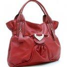 Red Designer Decorative Inspired Front Shoulder Bag