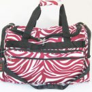 """Zebra Red travel Carry-on Duffle Bag Large Luggage 22"""""""