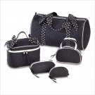 POLKA DOT TRAVEL BAG SET OF 5