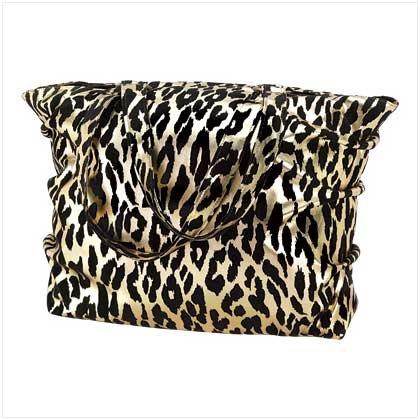 Golden Leopard Tote