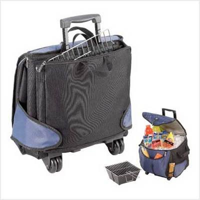 FOLD-N-GO GRILL/COOLER COMBO