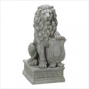 Lion Guardian Statue