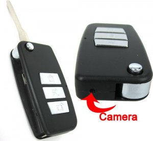 4GB High Definition Car Key Spy Camera