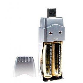 AA/AAA Battery Charger (USB)