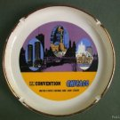Ashtray Vintage Chicago Advertising Banker Convention