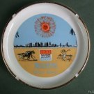 1968 Retro Miami Beach Advertising Banker Convention Ashtray