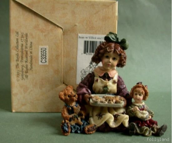 Retired Boyds Dollstone The Baker Jean Elliot Premier Edition