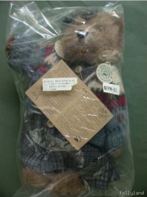 Retired Boyds 1998 Zelma Berriweather Plush Club Mint