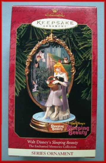 1999 Hallmark Ornament Disney Enchanted Sleeping Beauty
