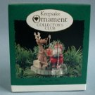 1995 Hallmark Fishing for Fun Keepsake Club Ornament OB