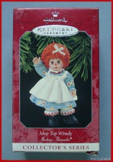 1998 Hallmark Ornament Madame Alexander Mop Top Wendy