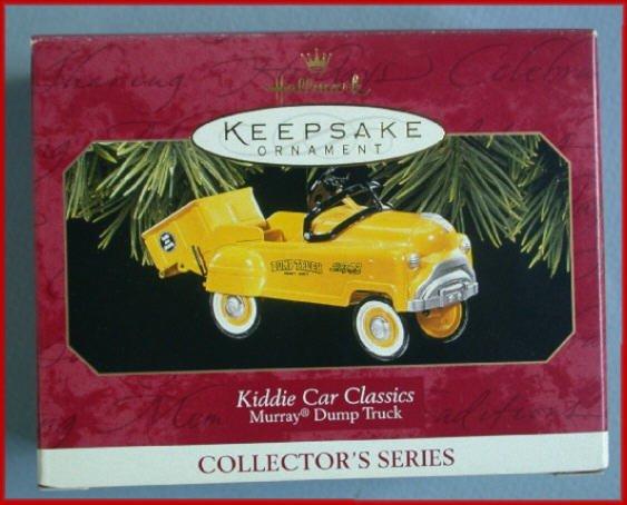 1997 Hallmark Ornament Kiddie Car Murray Dump Truck
