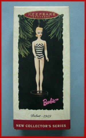 1994 Hallmark Ornament Blonde Barbie #1 QX5006